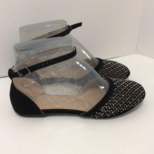 Forever brand overseas shoes black Flats 🥿 wbelt